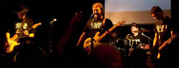 The Golden Axes at Rocktober 2010